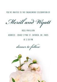 Merill and Wyatt Engagement Invitation