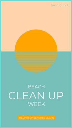 Clean up Beach