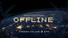 Sparrowaxe offline Twitch Thumbnail Space