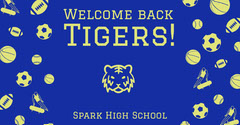 Tigers! Welcome Poster