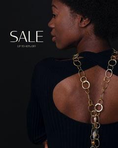 Black Sale Instagram Portrait  Jewelry