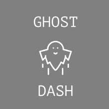 Grey and White Game Logo Logo