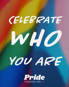 Rainbow Pride Instagram Portrait Rainbow