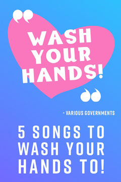 Wash Your Hands Health Posters