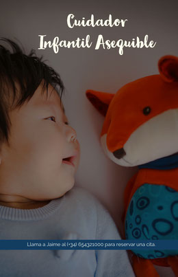 Cuidador <BR>Infantil Asequible  Octavilla
