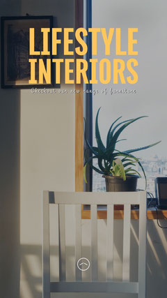 Homely Lifestyle Interiors Instagram Story Lifestyle