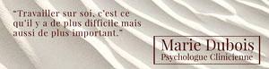 white and dark red Abstract Photo Psychology Clinic LinkedIn Banner Bannière