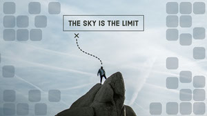 THE SKY IS THE LIMIT Fondos de pantalla de ordenador