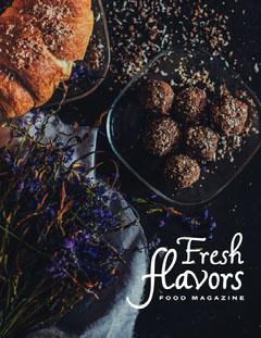 fresh flavor magazine Food Flyer