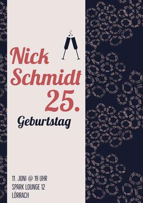 25.  Einladung zum Geburtstag