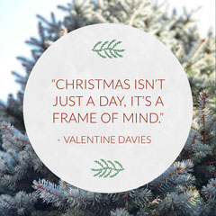 Christmas Frame Of Mind Quote Igsquare Frame