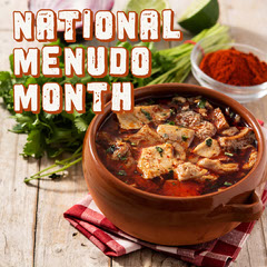 Brown National Menudo Month Instagram Square Chef