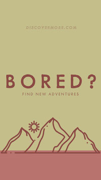 BORED? Advertentie