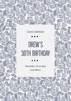 Drew's <BR>30th Birthday  Birthday