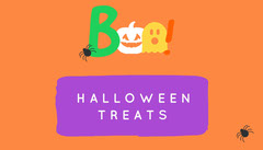 Orange and Violet Boo Costume Halloween Party Gift Tag Gift Card