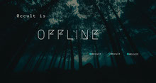 Mysterious Forest Twitch Banner Banner do Twitch