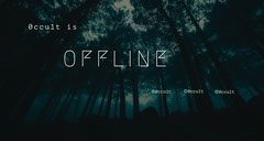 Mysterious Forest Twitch Banner Forest