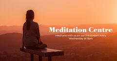 Orange Sunset Meditation Facebook Advert Lifestyle