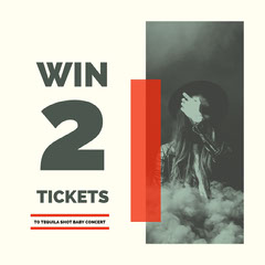 Win 2 tickets Giveaway