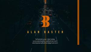 Alan Baster<BR> Visitenkarte