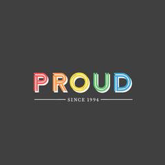 Proud LGBTQ+ Instagram Square Pride