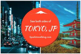 Tokyo Japan Travel Blog Postcard Postkort