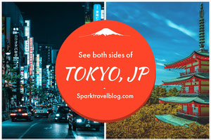 Tokyo Japan Travel Blog Postcard Urlaubspostkarte