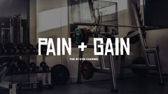 Gym and Fitness YouTube Channel Art Workout