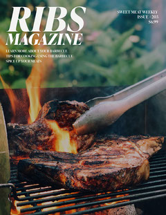 BBQ are coming Magazine Cover Cooking