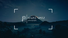 Blue and White Mountain Photographer Facebook Page Cover Photography