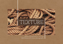 Brown ROpes Texture Photogrphy Photo Album Cover Landscape Photography