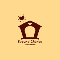 Yellow and Brown Animal Shelter Logo Instagram Post Logo