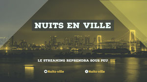 city nights twitch banner  Bannière