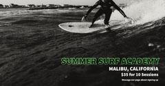 Summer surf academy ad Facebook Post Ocean