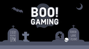 BOO!<BR>Gaming Hochzeits-Banner