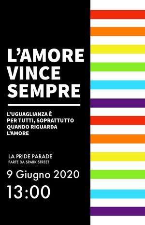 pride parade event poster Poster eventi