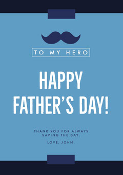 Happy<BR>Father's Day! Holiday