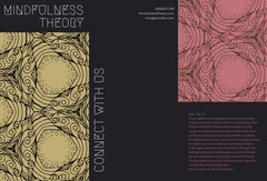 Mindfulness Meditation Brochure Pattern Design
