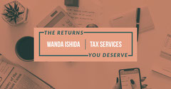 Pink and White Tax Services Facebook Post Tax Flyer
