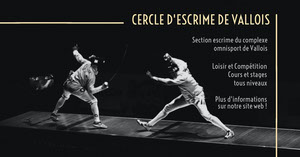 Black Fencing Facebook Cover Annonce Facebook