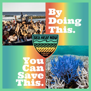 Colorful Collage Music Festival Helping Enviroment Instagram Post Sea.Hear.Now Festival