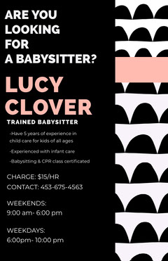LUCY CLOVER  Day Care