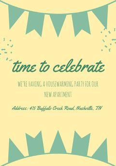 time to celebrate Celebration
