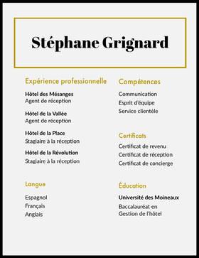 Stéphane Grignard  CV