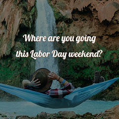 Dark Toned With White Text Labor Day Weekend Instagram Post Labor Day Flyer