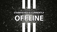 White and Black Offline Banner Stream