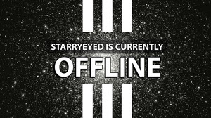 White and Black Offline Banner Banneri