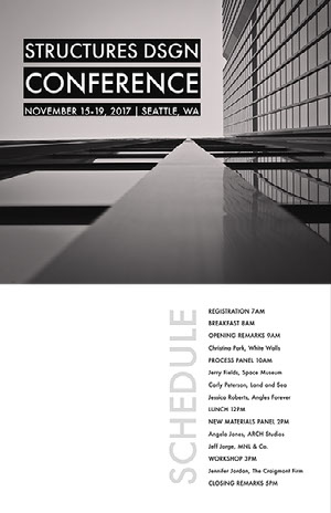 Modern Minimalistic Black and White Conference Poster  Conference Flyer