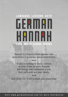 Grey German Hannah Flyer Tutor Flyer