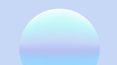 Light Blue Gradient Half Circle Zoom Background Blue